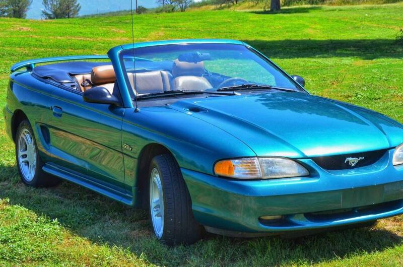 1996 Ford Mustang for sale at Triple R Sales in Lake City MN