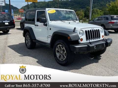2011 Jeep Wrangler for sale at ROYAL MOTORS LLC in Knoxville TN
