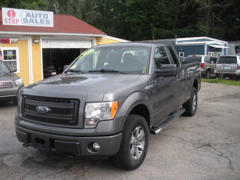 2013 Ford F-150 for sale at One Stop Auto Sales in North Attleboro MA