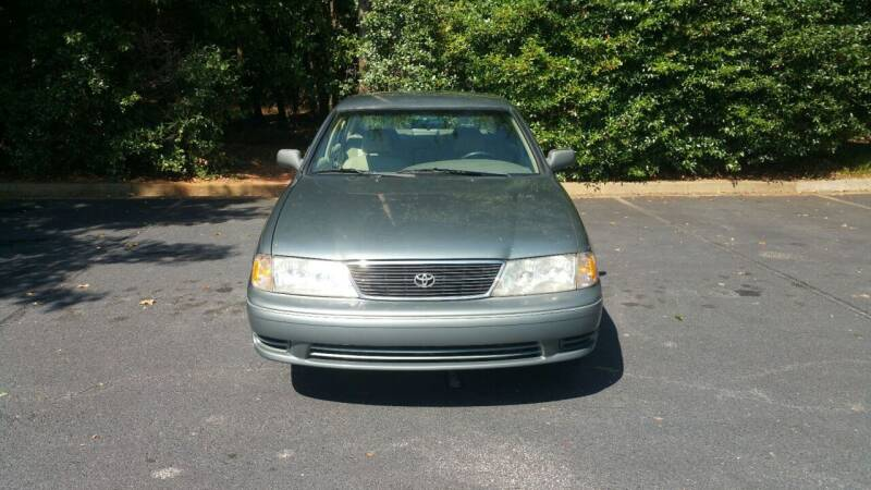1998 Toyota Avalon for sale at Wheels To Go Auto Sales in Greenville SC