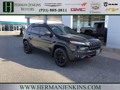2018 Jeep Cherokee for sale at Herman Jenkins Used Cars in Union City TN