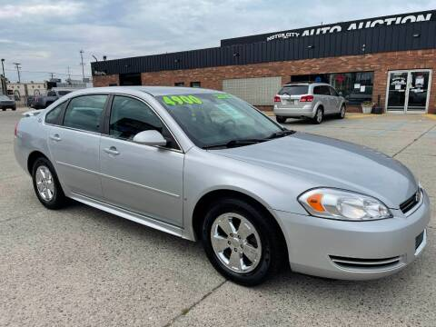 2009 Chevrolet Impala for sale at Motor City Auto Auction in Fraser MI