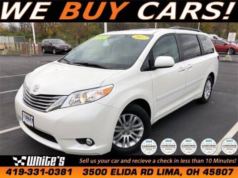 2017 Toyota Sienna for sale at White's Honda Toyota of Lima in Lima OH