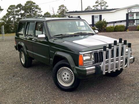 1996 Jeep Cherokee for sale at Let's Go Auto Of Columbia in West Columbia SC
