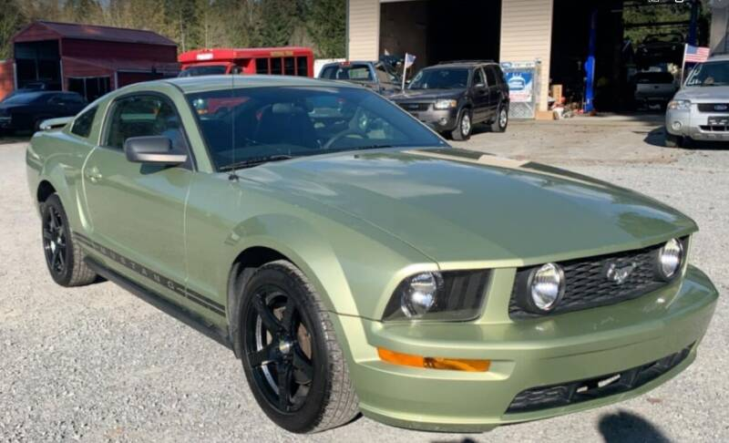 2005 Ford Mustang for sale at FLAGGS AUTO SOURCE in Mckenna WA