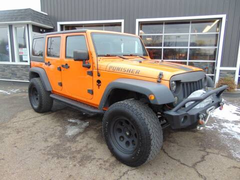 2013 Jeep Wrangler Unlimited for sale at Akron Auto Sales in Akron OH