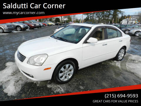 2006 Kia Optima for sale at Saldutti Car Corner in Gilbertsville PA
