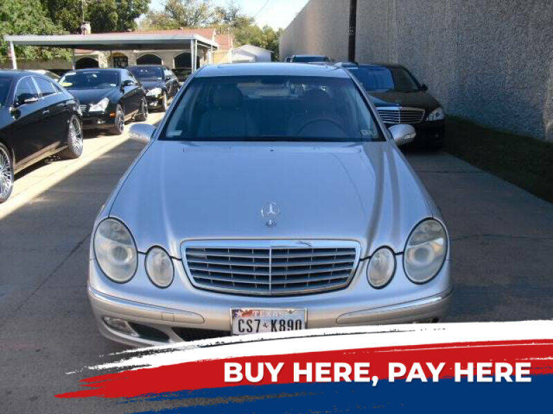 2003 Mercedes-Benz E-Class for sale at German Exclusive Inc in Dallas TX