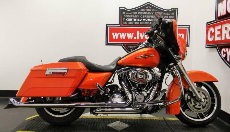 2012 Harley-Davidson Street Glide for sale at Certified Motor Company in Las Vegas NV