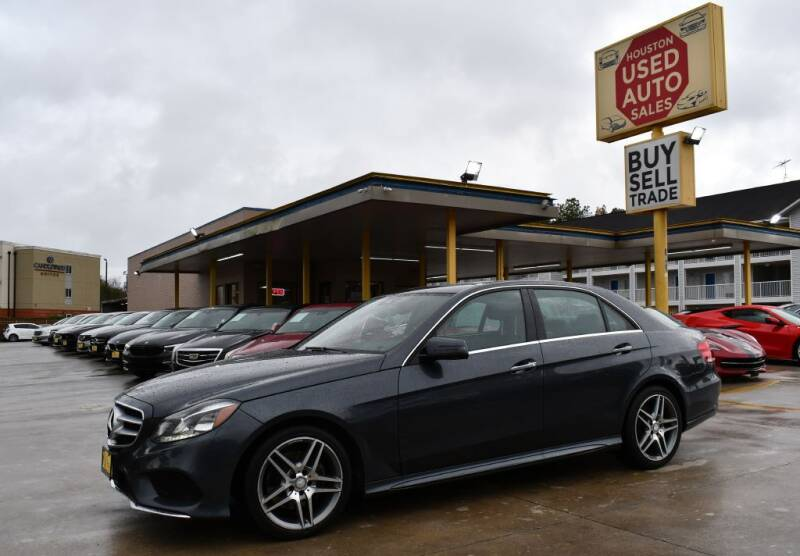2014 Mercedes-Benz E-Class for sale at Houston Used Auto Sales in Houston TX