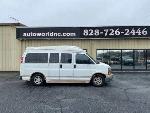 2008 Chevrolet Express Cargo for sale at AutoWorld of Lenoir in Lenoir NC