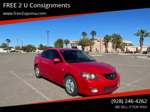 2006 Mazda MAZDA3 for sale at FREE 2 U Consignments in Yuma AZ