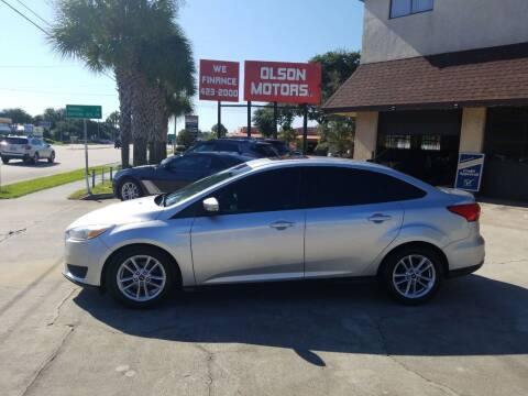 2016 Ford Focus for sale at Olson Motors LLC in Saint Augustine FL