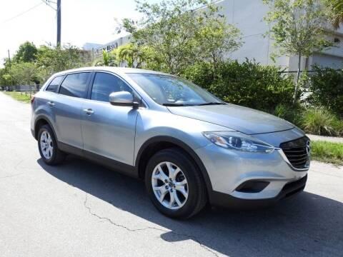 2014 Mazda CX-9 for sale at SUPER DEAL MOTORS 441 in Hollywood FL