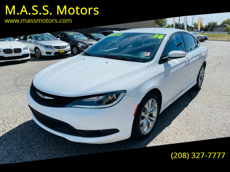 2016 Chrysler 200 for sale at M.A.S.S. Motors - MASS MOTORS in Boise ID