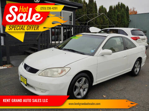 2004 Honda Civic for sale at KENT GRAND AUTO SALES LLC in Kent WA