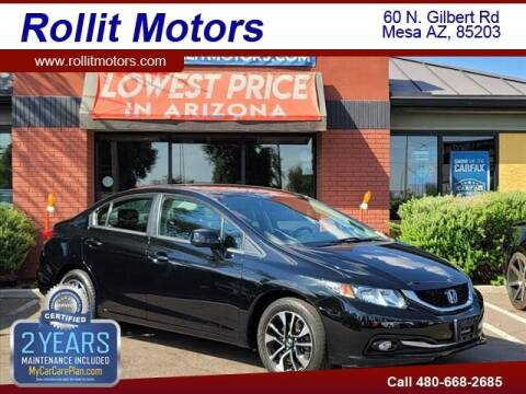 2013 Honda Civic for sale at Rollit Motors in Mesa AZ