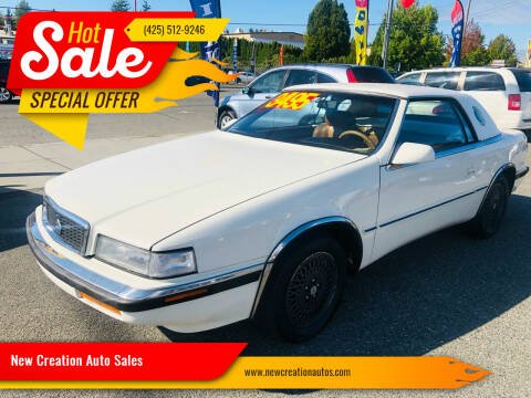 1991 Chrysler TC for sale at New Creation Auto Sales in Everett WA