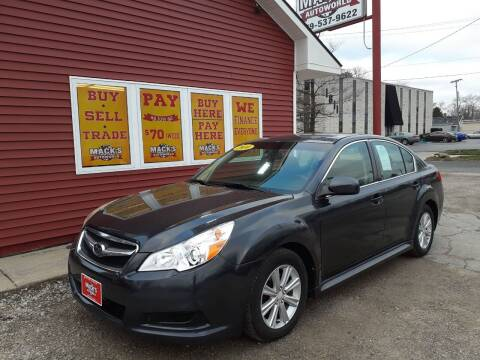 2010 Subaru Legacy for sale at Mack's Autoworld in Toledo OH