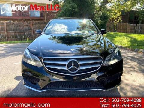2015 Mercedes-Benz E-Class for sale at Motor Max Llc in Louisville KY