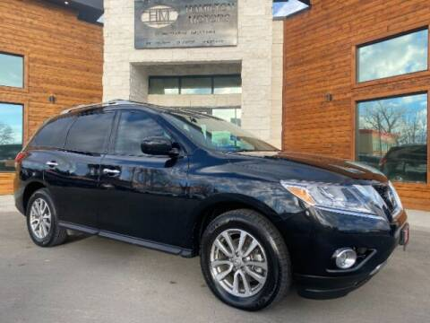 2016 Nissan Pathfinder for sale at Hamilton Motors in Lehi UT