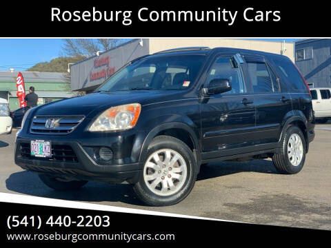 2005 Honda CR-V for sale at Roseburg Community Cars in Roseburg OR