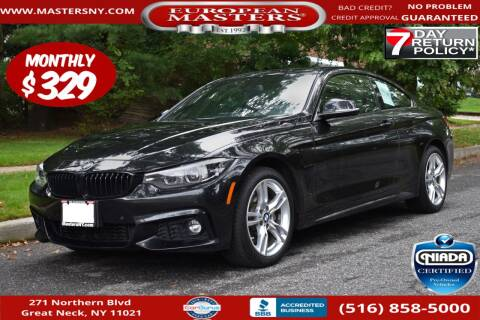 2019 BMW 4 Series for sale at European Masters in Great Neck NY