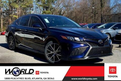 2021 Toyota Camry for sale at CU Carfinders in Norcross GA
