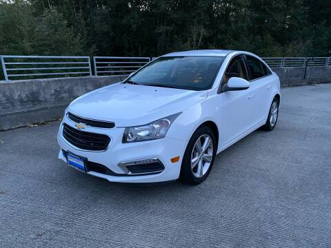 2015 Chevrolet Cruze for sale at Zipstar Auto Sales in Lynnwood WA