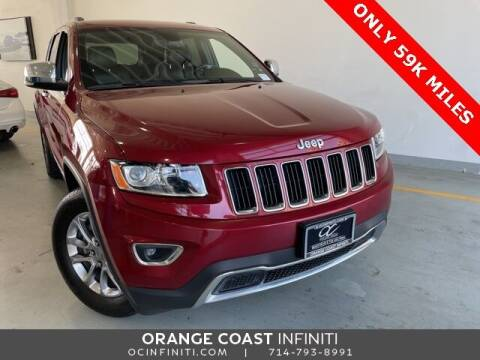 2015 Jeep Grand Cherokee for sale at ORANGE COAST CARS in Westminster CA