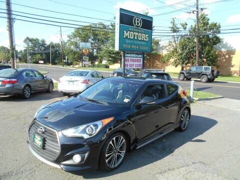 2016 Hyundai Veloster for sale at Brookside Motors in Union NJ
