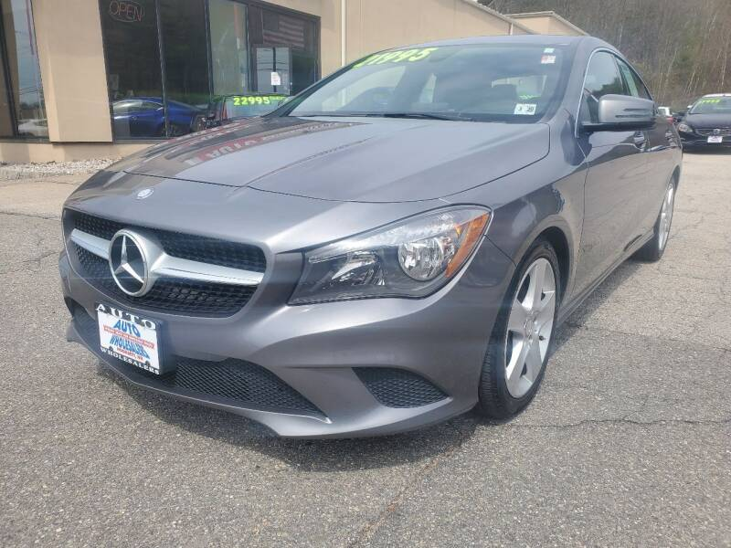 2015 Mercedes-Benz CLA for sale at Auto Wholesalers Of Hooksett in Hooksett NH