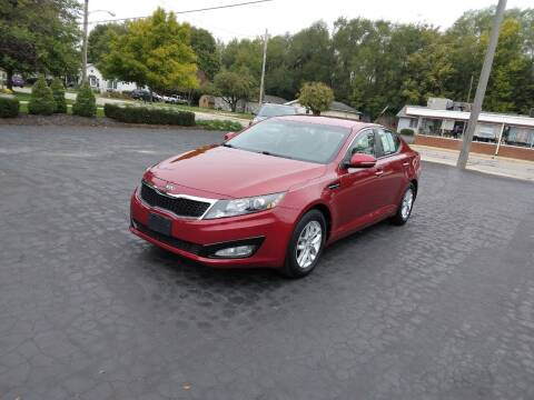 2013 Kia Optima for sale at Keens Auto Sales in Union City OH
