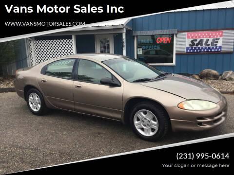 2002 Dodge Intrepid for sale at Vans Motor Sales Inc in Traverse City MI
