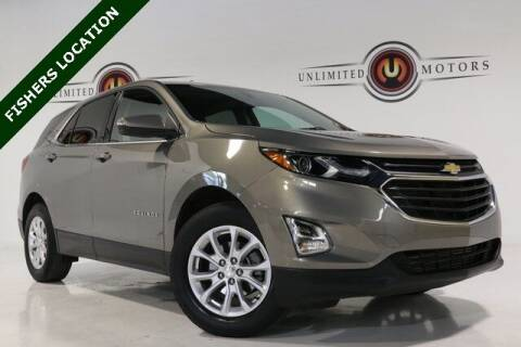 2018 Chevrolet Equinox for sale at Unlimited Motors in Fishers IN