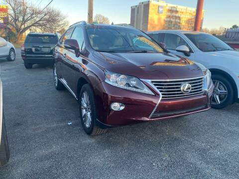 2014 Lexus RX 350 for sale at City to City Auto Sales in Richmond VA