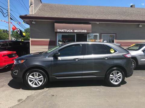 2016 Ford Edge for sale at Shattuck Motors in Newport VT