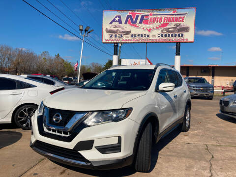 2017 Nissan Rogue for sale at ANF AUTO FINANCE in Houston TX
