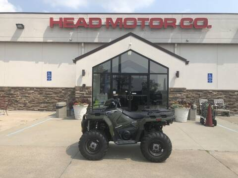 2021 Polaris SPORTSMAN 450 H.O. EPS for sale at Head Motor Company - Head Indian Motorcycle in Columbia MO
