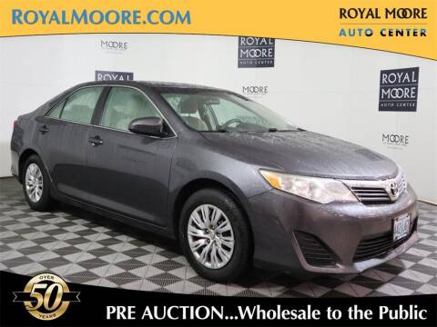 2013 Toyota Camry for sale at Royal Moore Custom Finance in Hillsboro OR