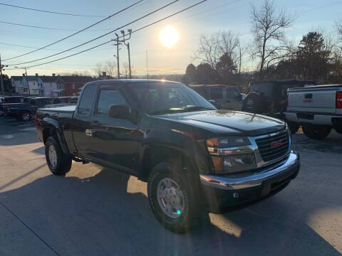 2007 GMC Canyon for sale at Twin Rocks Auto Sales LLC in Uniontown PA