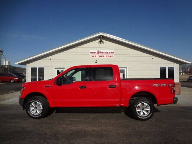 2019 Ford F-150 for sale at GIBB'S 10 SALES LLC in New York Mills MN