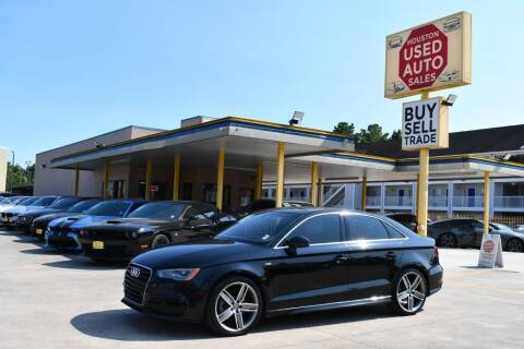 2015 Audi A3 for sale at Houston Used Auto Sales in Houston TX