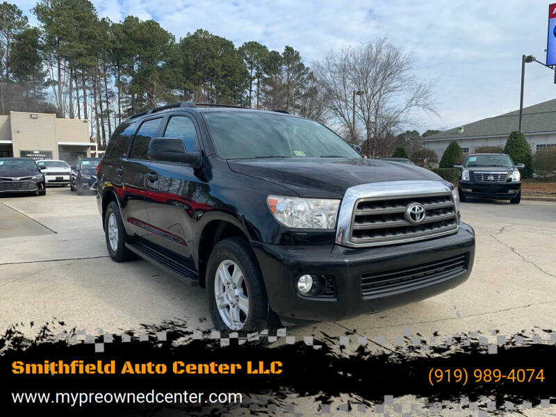 2012 Toyota Sequoia for sale at Smithfield Auto Center LLC in Smithfield NC