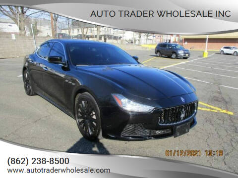 2015 Maserati Ghibli for sale at Auto Trader Wholesale Inc in Saddle Brook NJ
