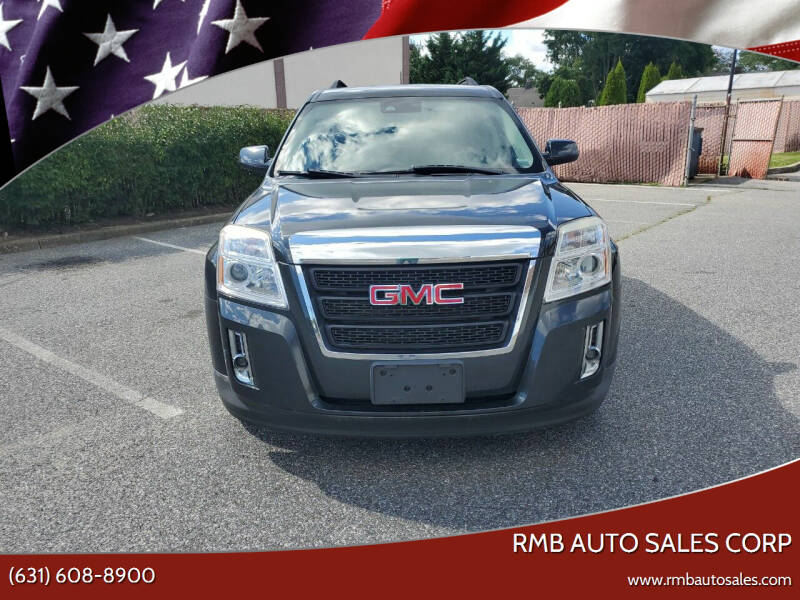 2013 GMC Terrain for sale at RMB Auto Sales Corp in Copiague NY