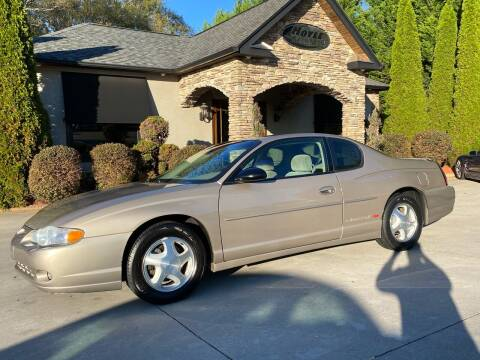 2003 Chevrolet Monte Carlo for sale at Hoyle Auto Sales in Taylorsville NC