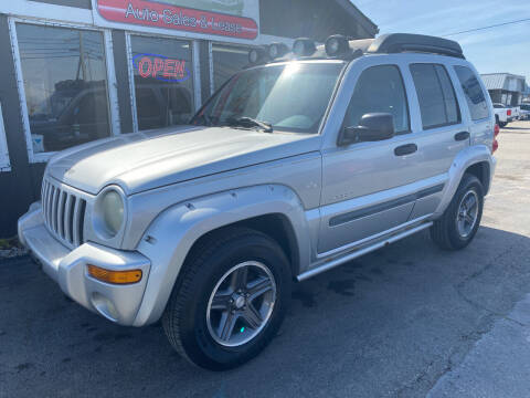 2004 Jeep Liberty for sale at Martins Auto Sales in Shelbyville KY