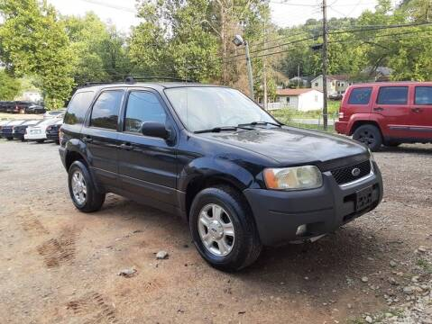 2003 Ford Escape for sale at MICHAEL J'S AUTO SALES in Cleves OH