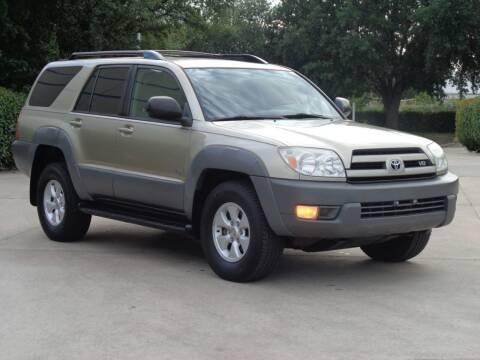 2003 Toyota 4Runner for sale at Auto Starlight in Dallas TX